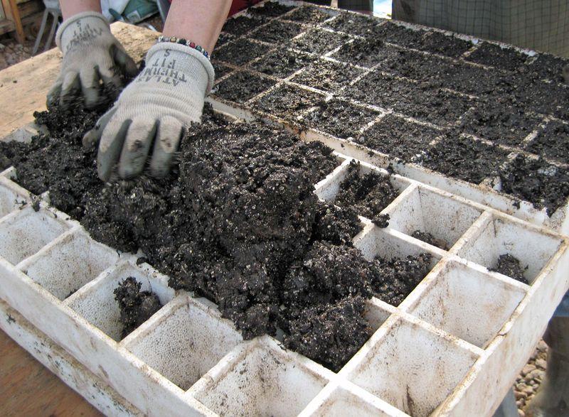Spread soil