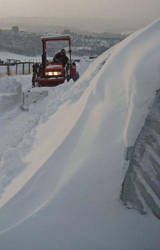 Snow removal Nov'10